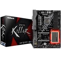ASRock Z370 Killer SLI Intel Socket 1151 Coffee Lake ATX DDR4 DVI-D/HDMI Ultra M.2 USB 3.1 Motherboard