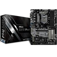 ASRock Z370 Pro4 Intel Socket 1151 Coffee Lake ATX DDR4 D-Sub/DVI-D/HDMI Ultra M.2 USB 3.1 Motherboard