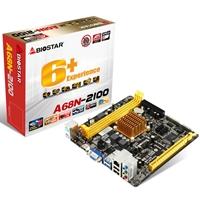 Biostar A68n-2100 Embedded Amd Apu Dual Core E1-2100 Radeon Hd 8210 Graphics Mini-itx Vga/hdmi Usb 3.0 Motherboard A68n-2100 - Tgt01