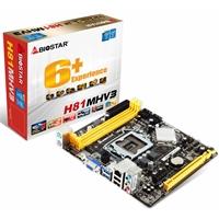 Biostar H81MHV3 Intel Socket 1150 Micro ATX VGA/HDMI USB 3.0 Motherboard
