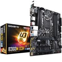 Gigabyte B360M D3H Intel Socket 1151 Coffee Lake Micro ATX DDR4 D-Sub/DVI-D/HDMI/DisplayPort M.2 USB 3.1 Type-C Motherboard