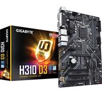 Gigabyte H310 D3 Intel Socket 1151 Coffee Lake ATX DDR4 D-Sub/HDMI M.2 USB 3.1 Motherboard