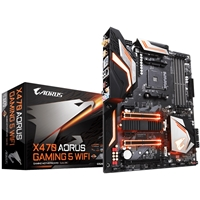 Gigabyte X470 AORUS GAMING 5 WIFI AMD Socket AM4 DDR4 HDMI USB 3.1 Motherboard