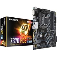 Gigabyte Z370 HD3 Intel Socket 1151 Coffee Lake ATX DDR4 DVI-D/HDMI M.2 USB 3.1 Motherboard