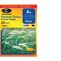 Sumvision A4 200gsm (25 Pack) Glossy Photo Paper Paper-a4-photo-2 - Tgt01