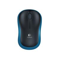 Logitech M185 Wireless Black & Blue Mouse 910-002236 - Tgt01