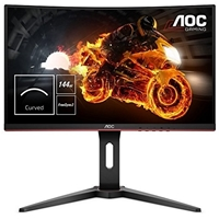 "Aoc C24g1 23.6"" Led 144hz 1ms Vga / Hdmi / Display Port Monitor With Freesync Curved Monitor C24g1 - Tgt01"