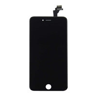Economy iPhone 6 Plus Compatible Assembly Kit Black Original LCD Original Touch Copy Glass