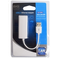 Evo Labs 10/100 Usb To Ethernet Adapter Npevo-sb2eth - Tgt01