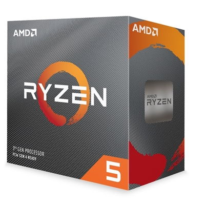 AMD Ryzen 5 3600x with Wraith Stealth cooler 3.8Ghz 6 Core AM4 O