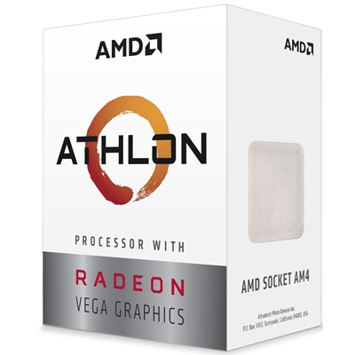 AMD Athlon 200GE Dual Core 3.2Ghz Radeon Vega 3 AM4 CPU