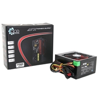 Ace A-750br 750w 120mm Red Silent Fan Psu A-750br - Tgt01