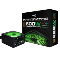 Aerocool Integrator Rgb 600w 120mm Rgb Ready Fan 80 Plus Bronze Psu Acp-i600br - Tgt01