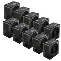 Box Of 10 Cooler Master Mwe 400 400w 120mm Hdb Fan 80 Plus Certified Oem System Builder Psu Mpw-4002-acabw-hk Bundle - Tgt01