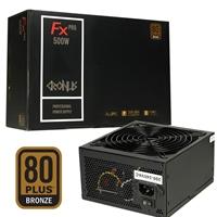 Cronus Fx Pro 500w 140mm Silent Fan 80 Plus Bronze Psu Cronus-500atv - Tgt01