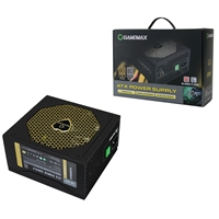 Game Max Gm600g 600w 140mm Silent Black Fan 80 Plus Platinum Semi Modular Psu Gm-600g - Tgt01