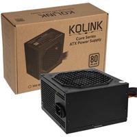 Kolink Core Series 500w 120mm Automatic Control Fan 80 Plus Certified Psu Kl-c500 - Tgt01