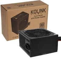 Kolink Core Series 600w 120mm Automatic Control Fan 80 Plus Certified Psu Kl-c600 - Tgt01