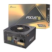 Seasonic Focus Plus 1000w 120mm Ultra Quiet Fdb Fan 80 Plus Gold Fully Modular Psu Ssr-1000fx - Tgt01