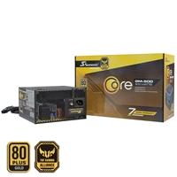 Seasonic Core Gm 500w 120mm Sleeve Bearing Fan 80 Plus Gold Semi Modular Psu Ssr-500gm - Tgt01