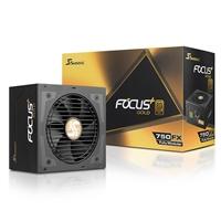 Seasonic FOCUS Plus 750W 120mm Hybrid Silent Control Fan 80 PLUS Gold Fully Modular PSU
