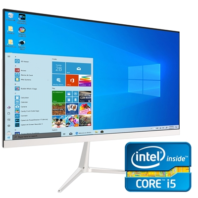 """All-In-One 24""""PC Intel i5 9400 2.90GHz Six Core 8GB DDR4 RAM 512"""