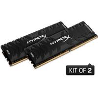 Kingston Hyperx Predator 32gb Black Heatsink (2 X 16gb) Ddr4 3000mhz Dimm System Memory Hx430c15pb3k2/32 - Tgt01