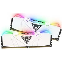 Patriot RGB Viper Series 16GB White Heatsink (2 x 8GB) DDR4 2666MHz DIMM System Memory