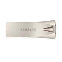 Samsung Bar Plus Champagne 256gb Usb 3.1 Silver Usb Flash Drive Muf-256be3/eu - Tgt01