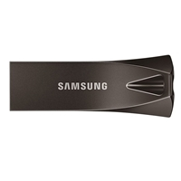 Samsung Bar Plus Titan 128gb Usb 3.1 Grey Usb Flash Drive Muf-128be4/eu - Tgt01