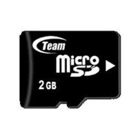 Team 2GB Micro SD Flash Card with Adapter