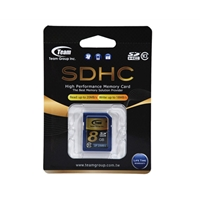 Team 8GB Full SDHC Class 10 Flash Card