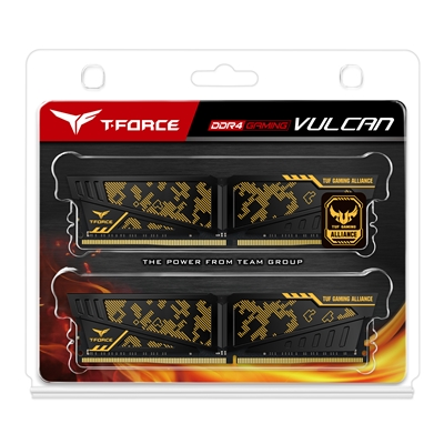 Team T-Force Vulcan TUF Gaming Alliance 16GB (2 x 8GB) DDR4 3600