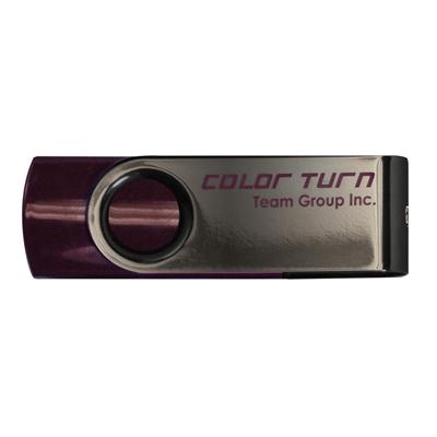 Team Turn 4GB USB 2.0 Flash Drive Purple