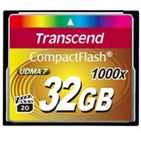 Transcend 32GB 1066x Compact Flash Card