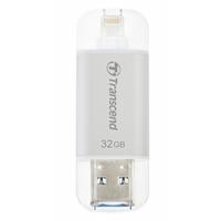 Transcend Jetdrive 32gb Usb 3.1 Silver Usb Flash Drive For Iphone And Ipad Ts32gjdg300s - Tgt01