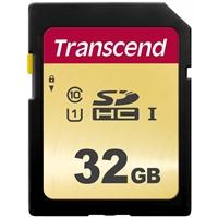 Transcend 32GB SDHC Class 10 UHS-I U1 Flash Card