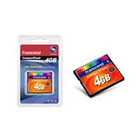 Transcend 4GB 133x Compact Flash Card