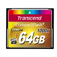 Transcend 64GB 1066x Compact Flash Card