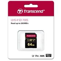 Transcend 64GB SDXC Class 3 UHS-II Flash Card