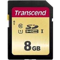 Transcend 8GB SDHC Class 10 UHS-I U1 Flash Card