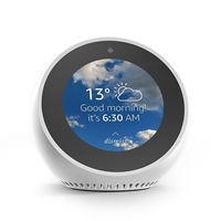 Amazon White Echo Spot