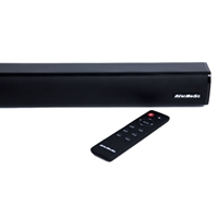 Avermedia Gs331 Sonicblast Gaming 40w 2.0 Channel Low Profile Soundbar 40aags331anr - Tgt01