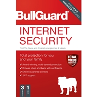 Bullguard Internet Security 2020 1year/3 Device Multi Device Single Retail Licence English Bg2012sin - Tgt01