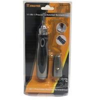 Sprotek 11-in-1 Precision Screwdriver Kit - Philips, Torx bits stored inside handle