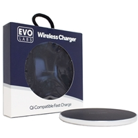 Universal Fast Charging QI Wireless Charging Pad Silver