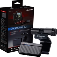 AVerMedia BO311D Live Streamer DUO Streamer / YouTuber Starter Pack
