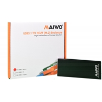 Maiwo USB 3.1 SATA M.2 SSD Enclosure Black