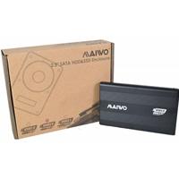 Maiwo 2.5 Inch External Hard Drive Enclosure, USB 3.0, 5Gbps, Black, For Sata 3 HDD, SSD
