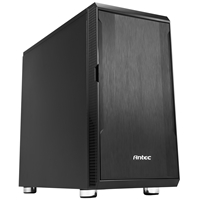 Antec P5 Silent Micro Tower 2 x USB 3.0 Sound-Dampened Black Case
